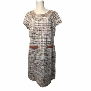 Connected Apparel Tweed Dress 14 !